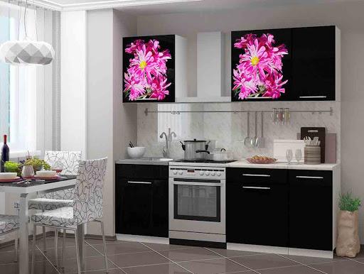 Кухонная мебель из современных материалов и ее особенности