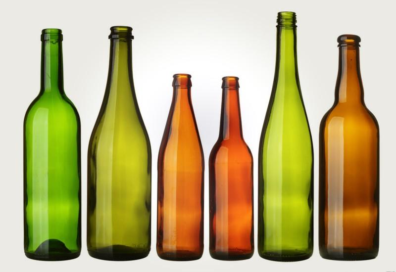 Разновидности бутылок из стекла